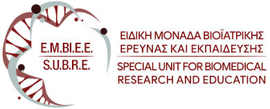 SUBRE- Special Unit for Biomedical Research and Education (SUBRE)